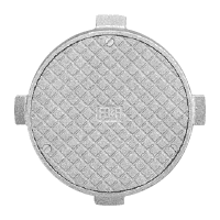Round cleanout access cover