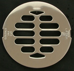 American Brass and Aluminum Chrome Drain Cover