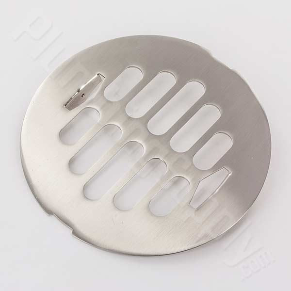 brushed nickel drian cover for AB&A