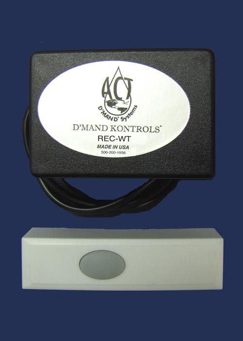 Wireless remote with hardwired receiver