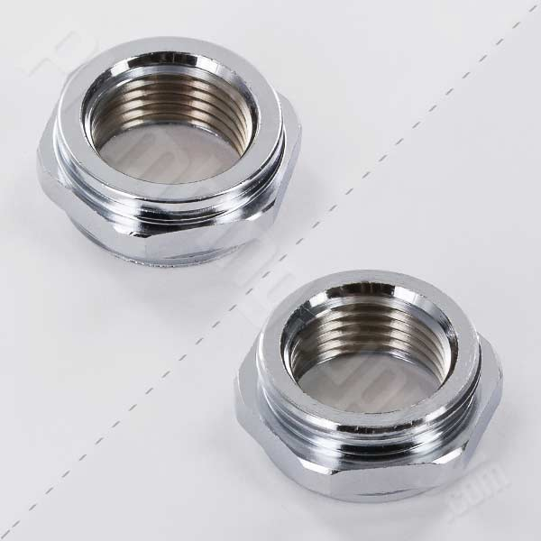 "Female 3/8""-18 NPT (FIPS) x Male 55/64""-27 Faucet Adapter 15-3620"