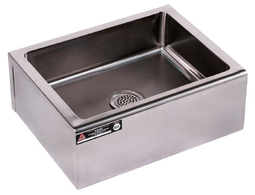 Stainless Steel Mop Sink Commercial : Mop Sinks and Accessories for Janitors and Custodians