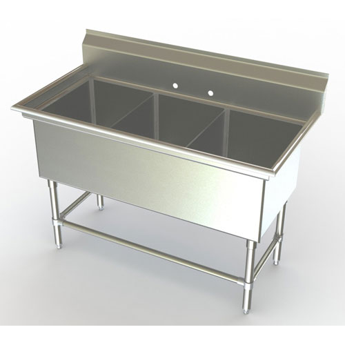 all sinks on this page feature heavy duty 3 bowl kitchen sinks ideal ...