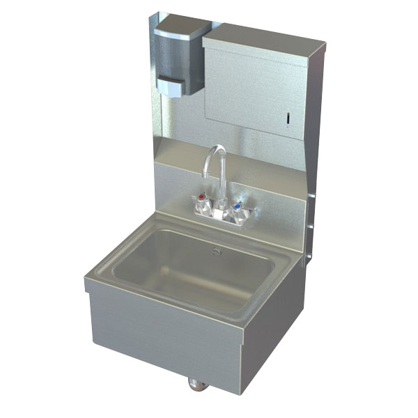 Aero handwashing sink model #HSDTA