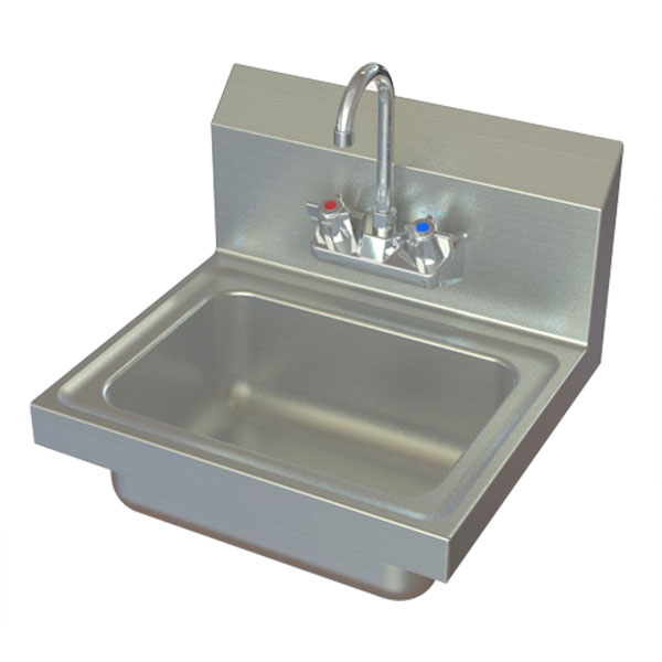 Aero handwashing sink model #HSF