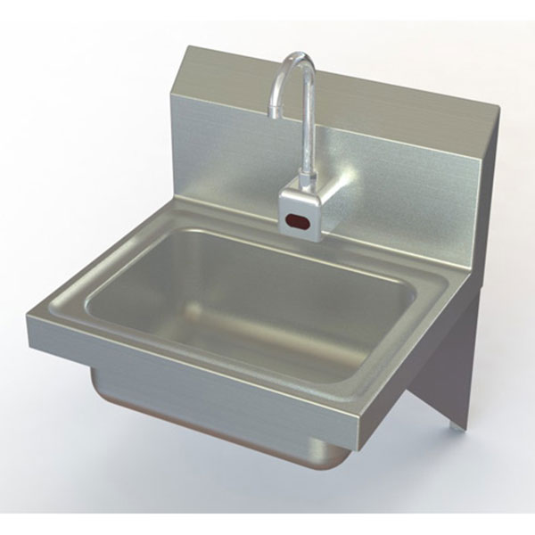 Commercial Hand Sink : Commercial Sensor Operated Hand Wash Sinks