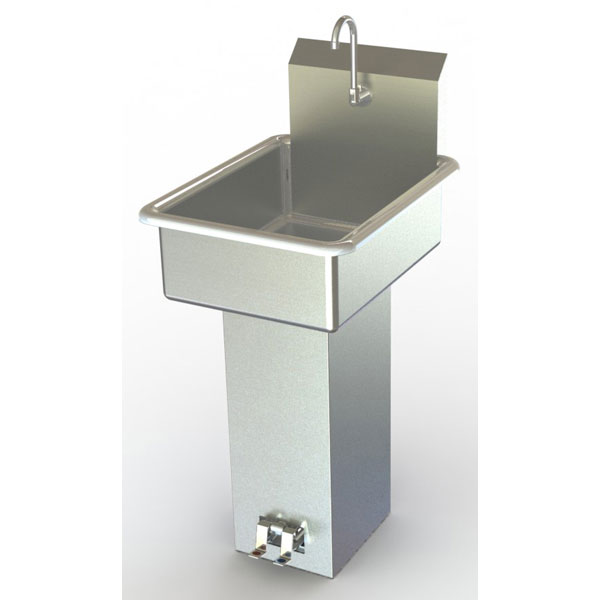 Commercial Foot Operated Hand Sinks