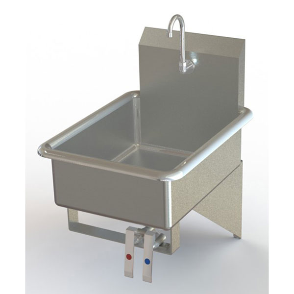 Hand Sink Commercial : Commercial Knee Operated Hand Sinks