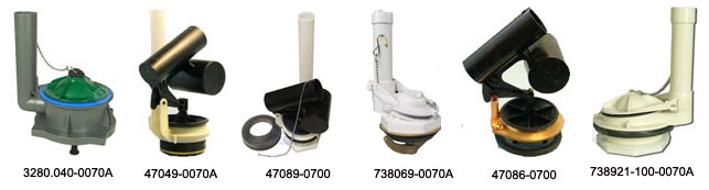 AMERICAN STANDARD replacementrepair parts for toilets and faucets