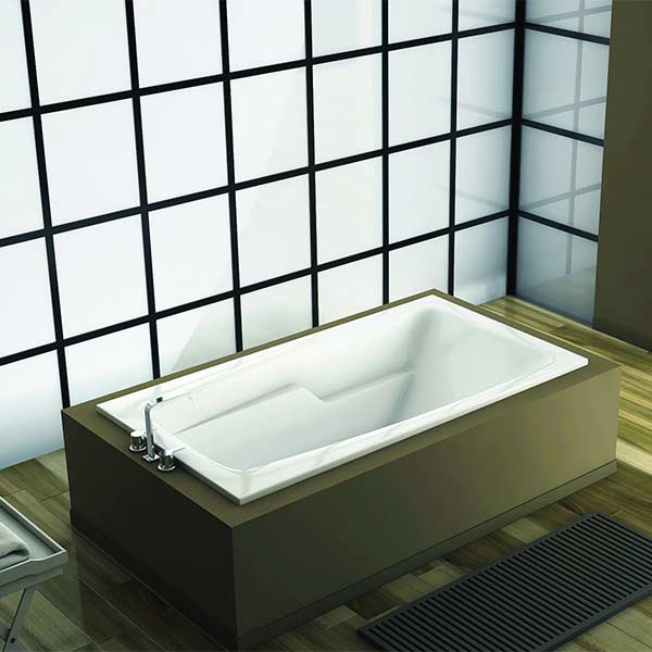 Americh Venetia tub shown installed in bathroom