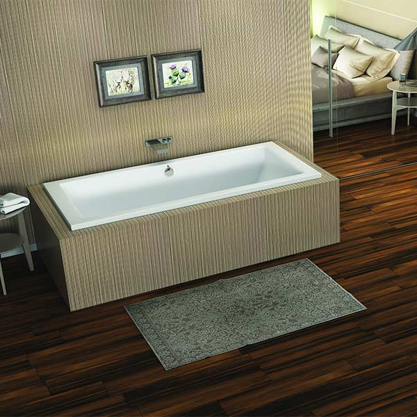 Americh Vivo tub shown installed in bathroom