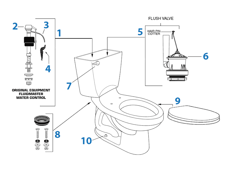 Parts For Toilet Tank Click here to identify the right valves for