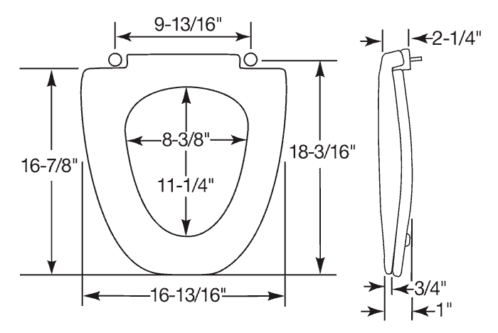 View Detailed Seat Dimensions