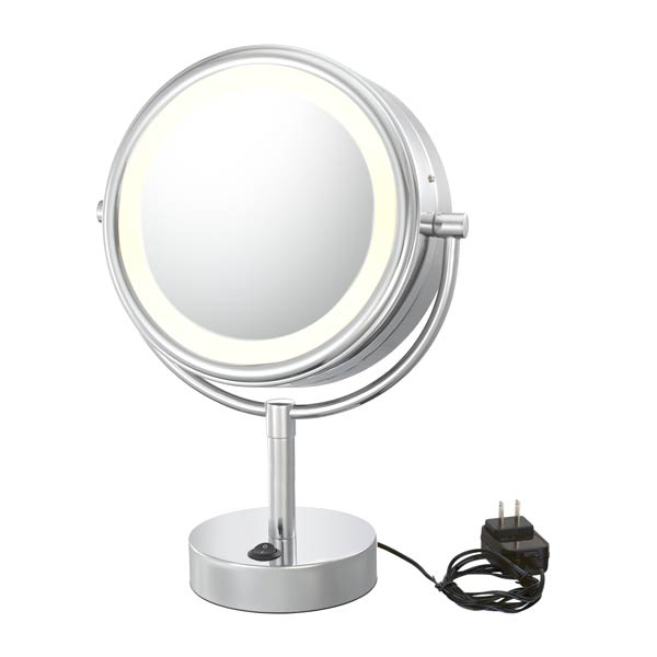 Double Sided LED NeoModern Halo Vanity Mirror