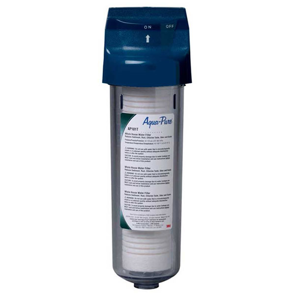 Aquapure 3m whole house water filter systems for Water feature filtration system
