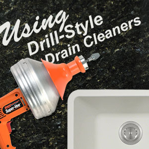 About General Wire Drill-Style Drain Cleaning Tools