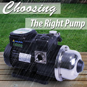 Choosing the Right Pump