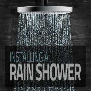 Tips for Installing a Rain Shower Head