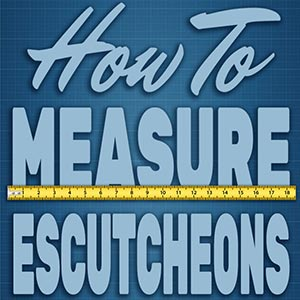 How to Measure Escutcheons/Flanges