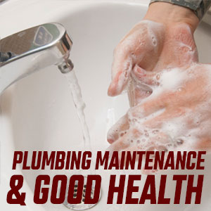 Plumbing Maintenance and Good Health