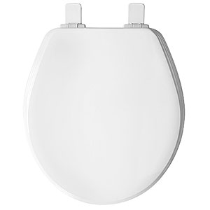 Round Will Fit American Standard Laurel Toilet Seat - White