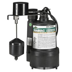 DuraMAC thermoplastic 5033 series 1/3 hp sump pump