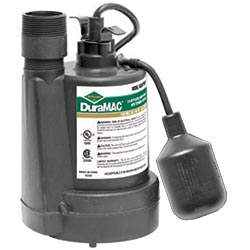 Thermoplastic sump pump