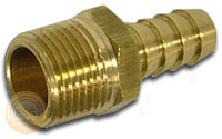 Photo of a brass insert fitting