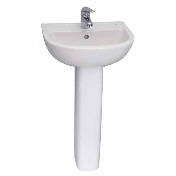 Barclay Compact pedestal bathroom sink