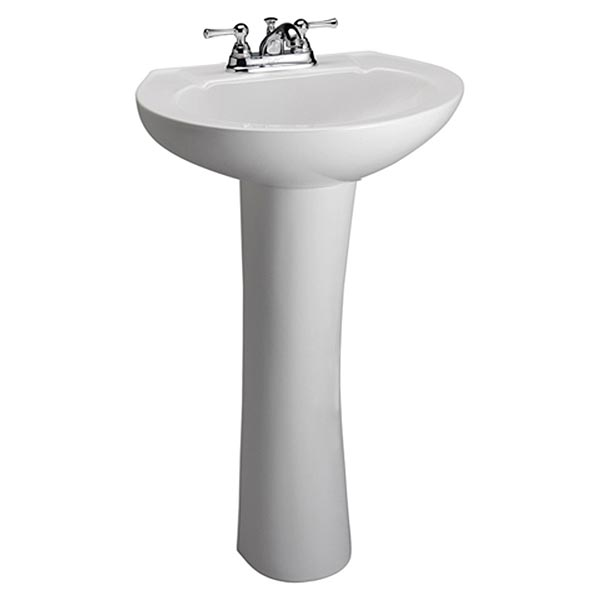 Barclay Hampshire 450 Series pedestal lav sink