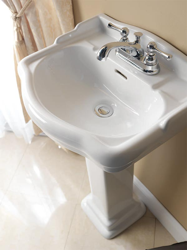 Barclay Stanford 550 Pedestal Lavatory Sink Click For More Images