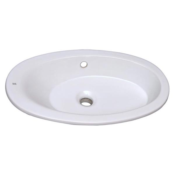 Self-Rimming (Drop-In) Bathroom Sinks by Barclay