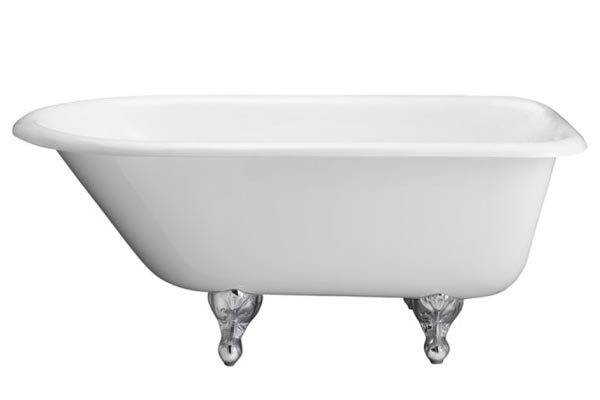 Barclay Antonio cast iron roll top clawfoot tub