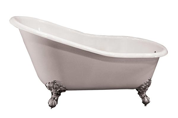 Barclay Giselle cast iron slipper style clawfoot tub