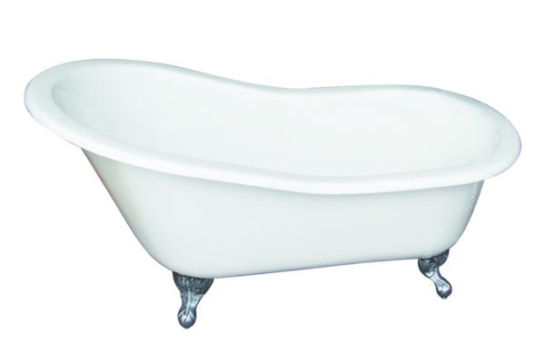 Barclay Griffin cast iron slipper style clawfoot tub