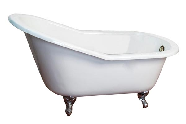 Barclay Icarus cast iron slipper style clawfoot tub