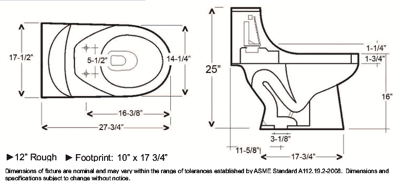 small water closet sizes standard roselawnlutheran