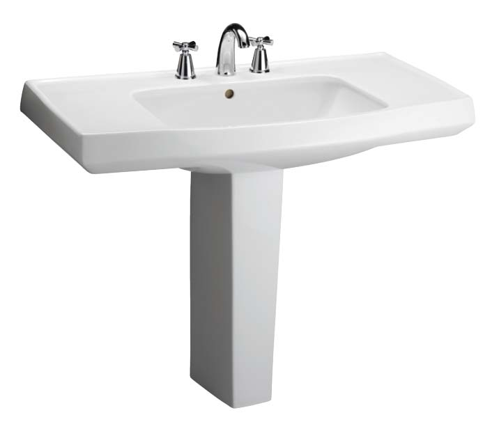 Pedestal Sink With Counter Space : Opulence ? Pedestal Lavatory Sinks