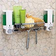Wall mount shower caddy