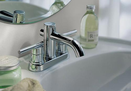 Lovely Centerset Lav Faucet Example