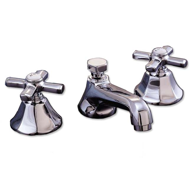 Old Fashion Widespread Bathroom Faucets