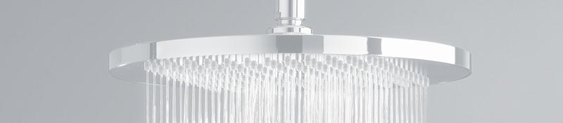 Disc style shower head