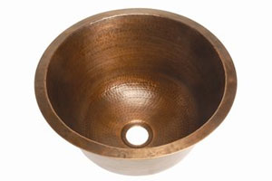 Belle Foret copper bar sink