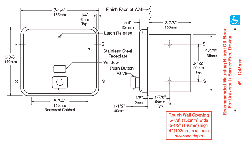 Bobrick Commercial And Public Restroom Products