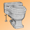 Case antique toilet