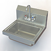 image of the handwash sink