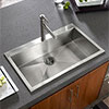 Houzer luxury stainless steel kitchen sink