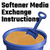 Softener tank exchange instructions