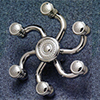 Starfish shower head