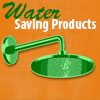 Water efficient plumbing products